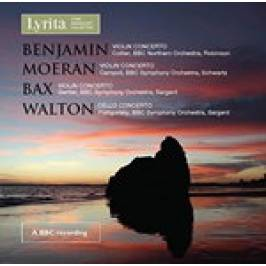 Product information Arthur Benjamin, EJ Moeran, Arnold Bax: Violin Concertos; William Walton: Cello Concerto (Music CD)