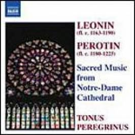 Various Composers - Sacred Music From Notre-Dame (Pitts, Tonus Peregrinus) (Music CD) CDs