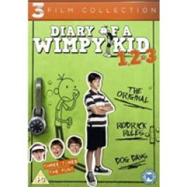 Product information Diary Of A Wimpy Kid 1-3 Boxset