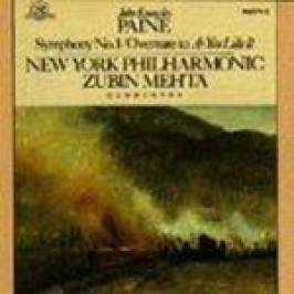 John Knowles Paine - Symphony No. 1, Overture To As You Like It (NYP, Zubin) CDs