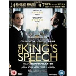 The King's Speech DVDs
