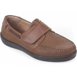 Product information Cosyfeet Woody Extra Roomy Men's Shoes - Tan Leather/Nubuck 7