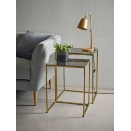 Product information Brass Nesting Tables