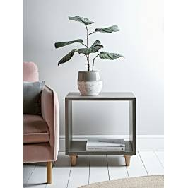 Product information Concrete Effect Cube Side Table