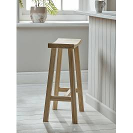Product information Curved Topped Counter Stool - Oak