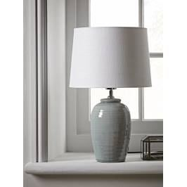 Product information Ribbed Crackle Glaze Table Lamp