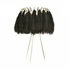 Product information Black Feather Table Lamp