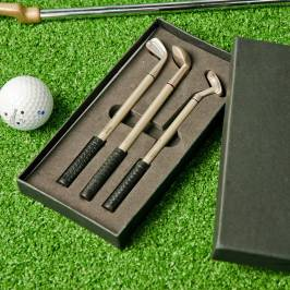 Product information Colin Montgomerie Golf Club Pen Set