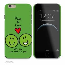 Product information Personalised Phone Cover - Peas In A Pod