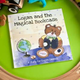 Product information Personalised Story Book - The Magical Bookcase