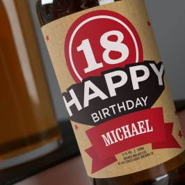 Product information Personalised Beer - 18th Birthday
