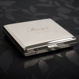 Product information Engraved Cigarette Case