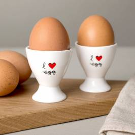 Product information I Love Egg - Egg Cups