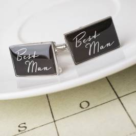 Product information Best Man Cufflinks
