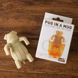 Product information Pug In A Mug Silicone Tea Infuser
