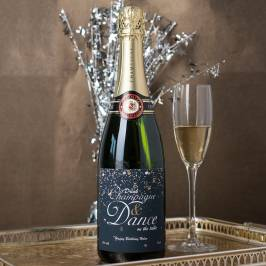 Product information Luxury Personalised Champagne - Drink Champagne and Dance