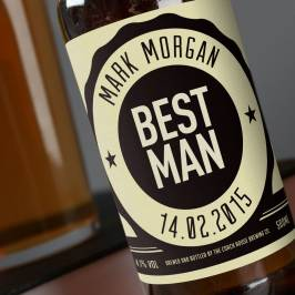 Product information Personalised Beer - Best Man