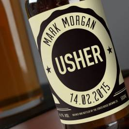Product information Personalised Beer - Usher