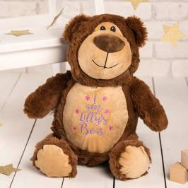 Product information Personalised Cubbies Classic Teddy Bear Soft Toy