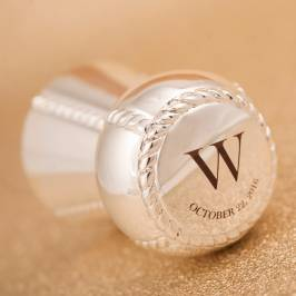 Product information Personalised Expandable Champagne & Prosecco Stopper
