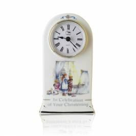 Product information Personalised Christening Clock