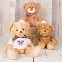 Product information Personalised Bear With T-Shirt - Loves