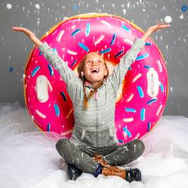 Product information Inflatable Snow Tube - Donut