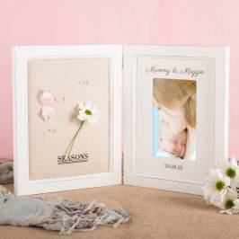 Product information Personalised Davenport Photo Frame & Memory Board - Names & Date