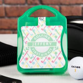 Product information Personalised Mini Golf First Aid Kit