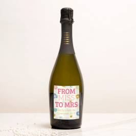 Product information Personalised Prosecco - From Miss To Mrs