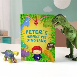 Product information Personalised Children's Book - Pet Dinosaur