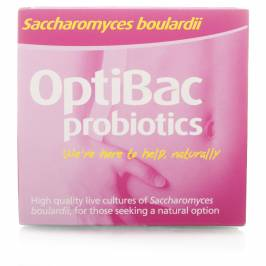Product information OptiBac Probiotics Saccharomyces Boulardii